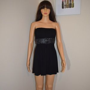 Sky Strapless Mini Dress